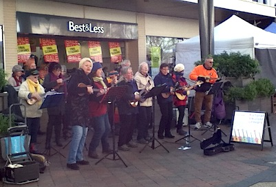Ballarat Ukulele Group Bridge Mall